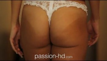 Toy fucking the brunette milf then cumming all ove